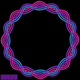 Bi Pride Frame Knot